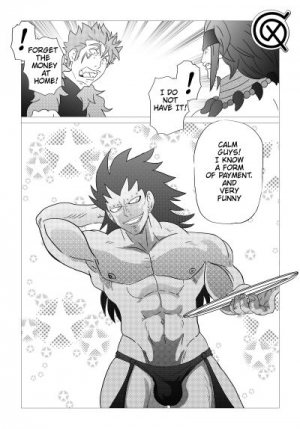 Gajeel getting paid (Fairy Tail) [English]