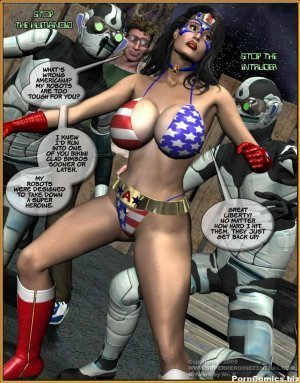 Miss Americana vs Geek - Page 4