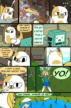 MisAdventure Time Spring Special - The Cat, the Queen, and the Forest - Page 3