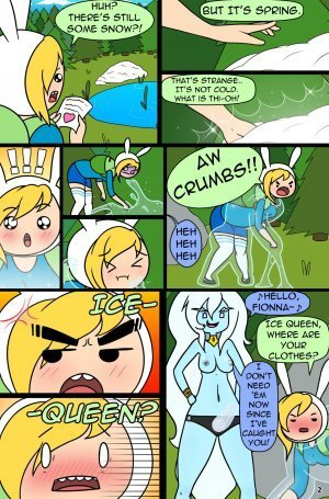 MisAdventure Time Spring Special - The Cat, the Queen, and the Forest - Page 4
