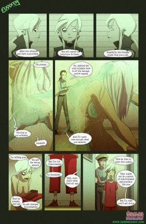 Ben 10- The witch with no name - Page 3