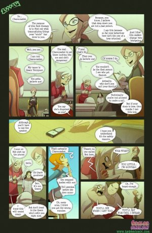 Ben 10- The witch with no name - Page 6