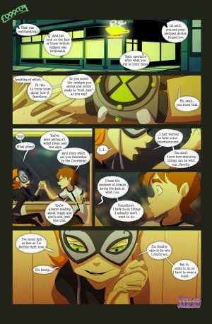 Ben 10- The witch with no name - Page 16