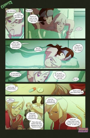 Ben 10- The witch with no name - Page 18