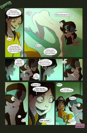 Ben 10- The witch with no name - Page 34