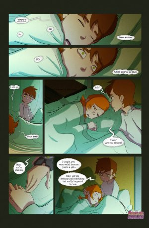 Ben 10- The witch with no name - Page 40
