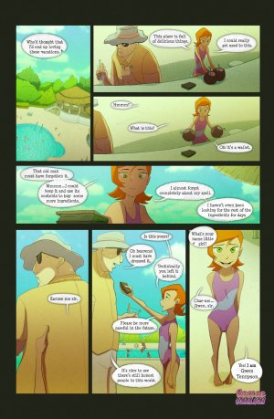 Ben 10- The witch with no name - Page 46