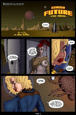Stacey Future- Space Marshal - Page 7