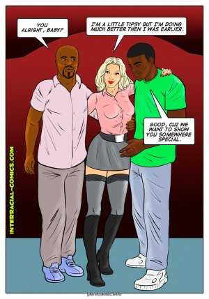 All part of the job- Interracial - Page 8
