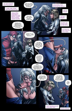 Liquorish Whiskers – Tracy Scops ( Spider-Gwen) - Page 8