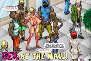 SuperHeroine-Sex at the Mall Interracial - Page 2