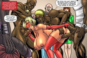 SuperHeroine-Sex at the Mall Interracial - Page 5