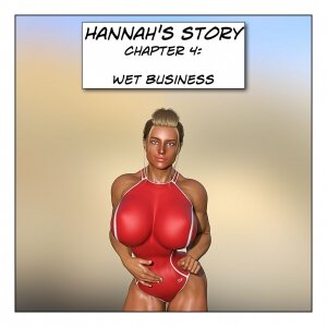 Hannah's Story 4: Wet Business - Page 1