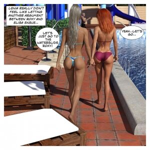 Hannah's Story 4: Wet Business - Page 39