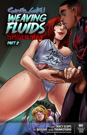 Tracy Scops- Weaving Fluids #2 (Spider-Man)