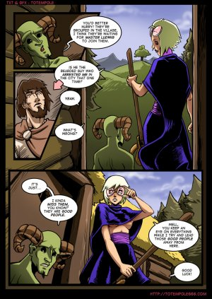 The Cummoner 7- Burn with Witch - Page 4