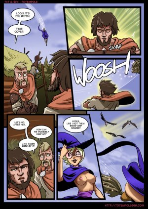 The Cummoner 7- Burn with Witch - Page 7