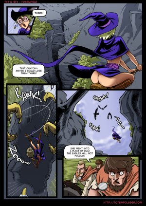 The Cummoner 7- Burn with Witch - Page 9