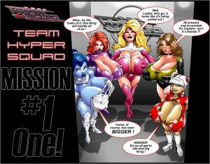Team Hyper Squad Mission 1-Smudge