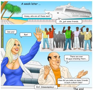 The Caribbean Holidays- Interracial - Page 40