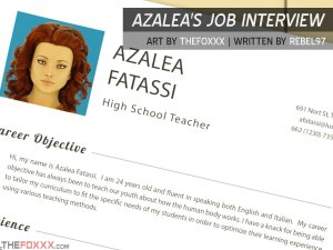 Foxxx – Azalea's Job Interview