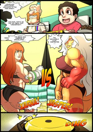 Jasper vs Xarna- Mad Project