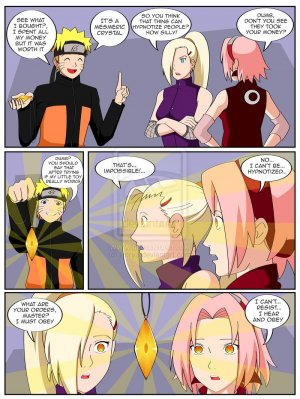 The Magic Crystal- Naruto