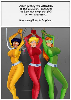 Totally Spies- Hypno Laboratory
