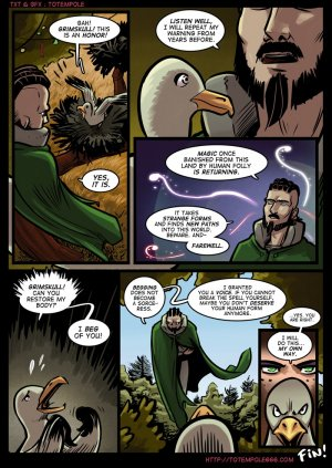 Totempole- The cummoner 15 – The Beholders - Page 38