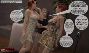 Wild Swinger Party- Incest3DChronicles - Page 5