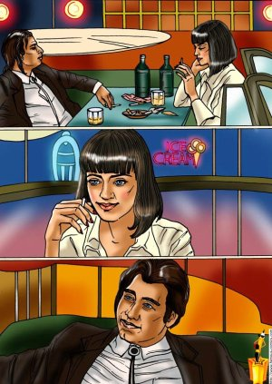 Pulp Fiction – Sinful Hollywood Parody