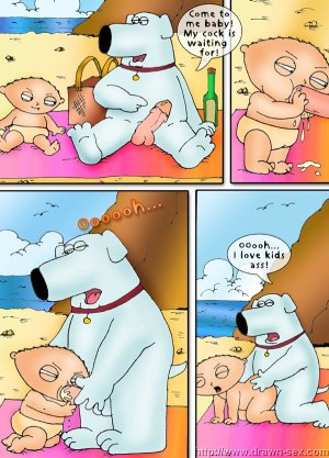 Family Guy – Beach Play,Drawn Sex - Page 6