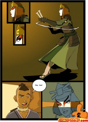 Avatar Last Airbender- Sex in The School - Page 1
