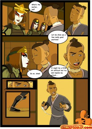 Avatar Last Airbender- Sex in The School - Page 2