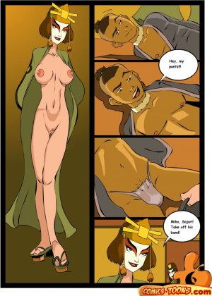Avatar Last Airbender- Sex in The School - Page 5