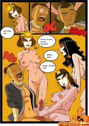 Avatar Last Airbender- Sex in The School - Page 17