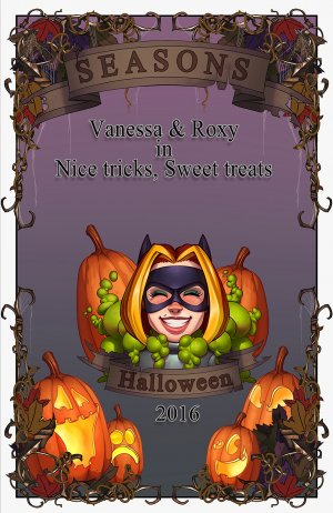Halloween 2016 - Vanessa & Roxy in Nice tricks, Sweet treats