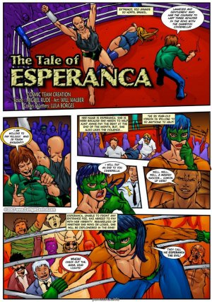 The Tale of Esperanca - Page 1