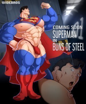 Superman in Buns of Steel