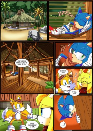 Sonic the Hedgehog porno komiks