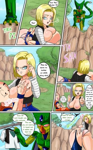 Dragon Ball Z- Android 18 meets Krillin- (Pink Pawg ...