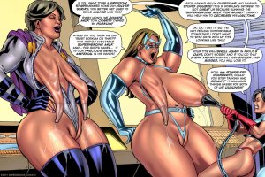 SuperHeroineComixxx- Drained Tits- Silver Strike - Page 1