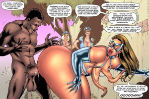 SuperHeroineComixxx- Drained Tits- Silver Strike - Page 3