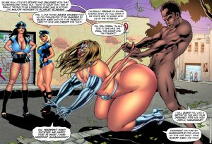 SuperHeroineComixxx- Drained Tits- Silver Strike - Page 4