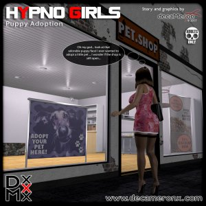 Hypno Girls 6- Puppy Adoption- DecaMeron X