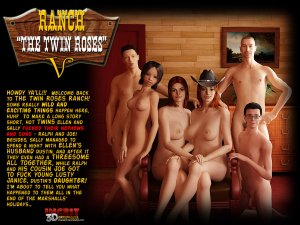 Ranch Twin Roses. Part 5- Incest