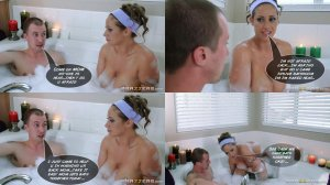 Tub bath with MOM – Brazzers - Page 8