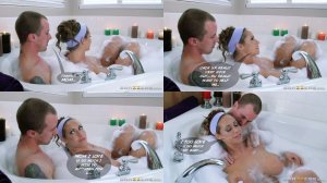 Tub bath with MOM – Brazzers - Page 10