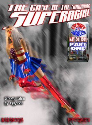 The case of the shrinking Superbgirl – 01