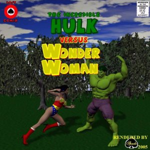 Incredible Hulk VS Wonder Woman